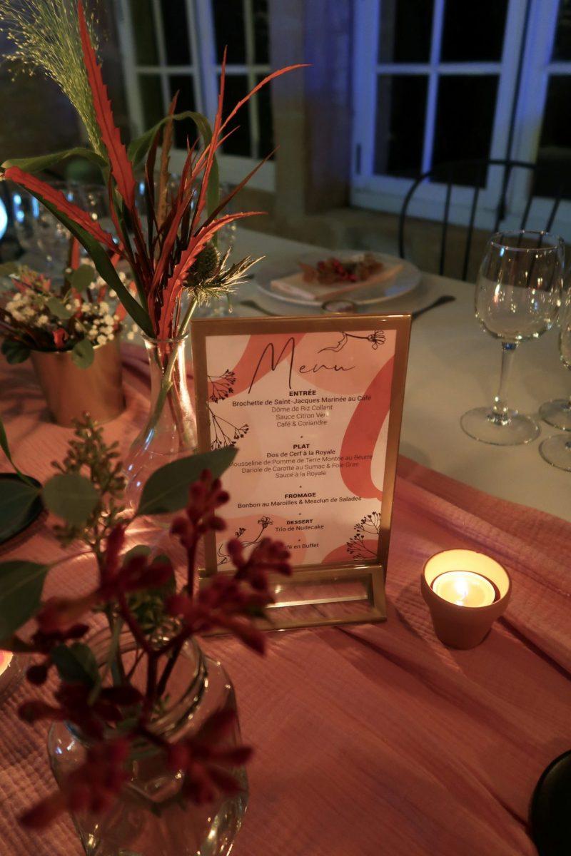 Décoration et papeterie Anniversaire Orange et rose